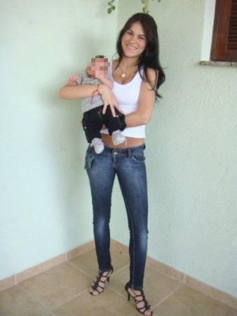Eliza com Bruninho, hoje com 3 anos