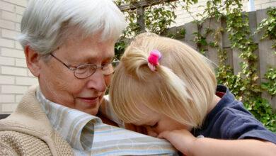 Foto de Relação boa entre avós e netos ajuda os dois lados