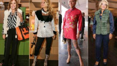 Foto de A moda cheia de charme da mulher madura