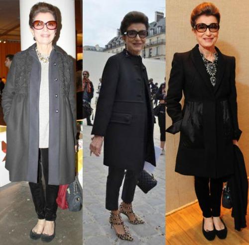 Empresária e consultora de moda, Costanza, 74, nasceu na Itália