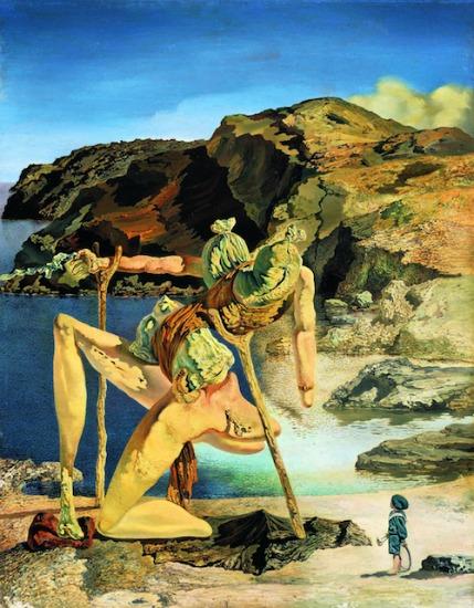 El espectro del sex-appeal, que Dali pintou em 1932