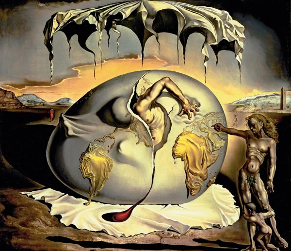 """Menino Geopolítico Observando o Nascimento do Novo Homem"""" de 1943"""
