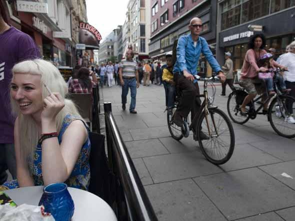 Uma cena de Oslo, a capital da Noruega, mais um nórdico na lista