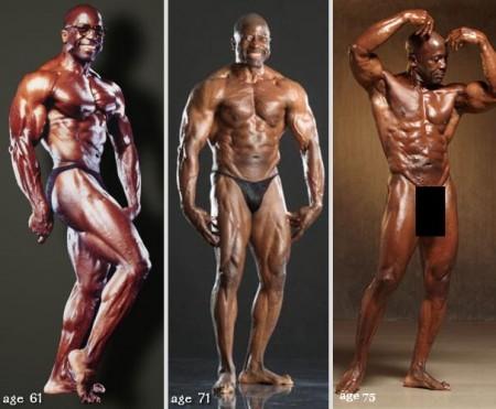 Ele foi campeão em vários torneios de fisioculturismo