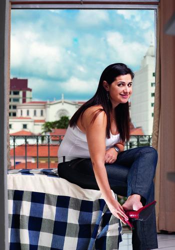 Fernanda Tescarollo teve um derrame quando tinha apenas 31 anos