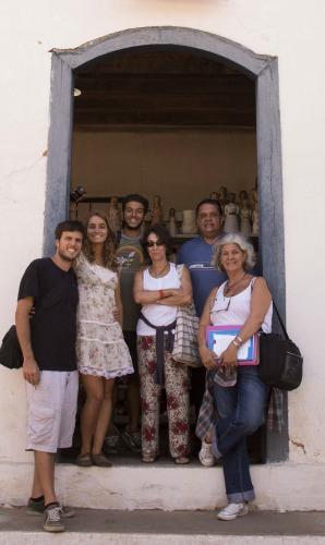 Com a equipe do Projeto Caminho da Terra