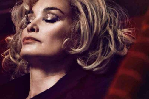 Jessica Lange, 64, numa foto da Marc Jacobs