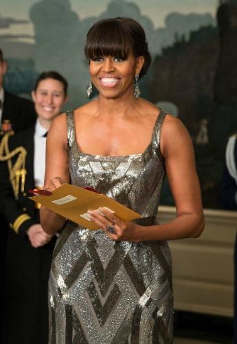 Na entrega do Oscar 2013: a mais bem vestida