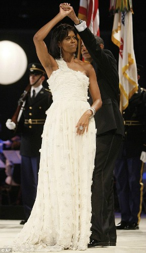 Na posse do presidente Barak Obama