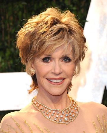Jane Fonda, 76, em plena atividade
