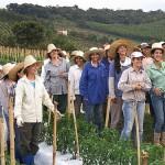 São mais de 100 mulheres que fazem de tudo na comunidade