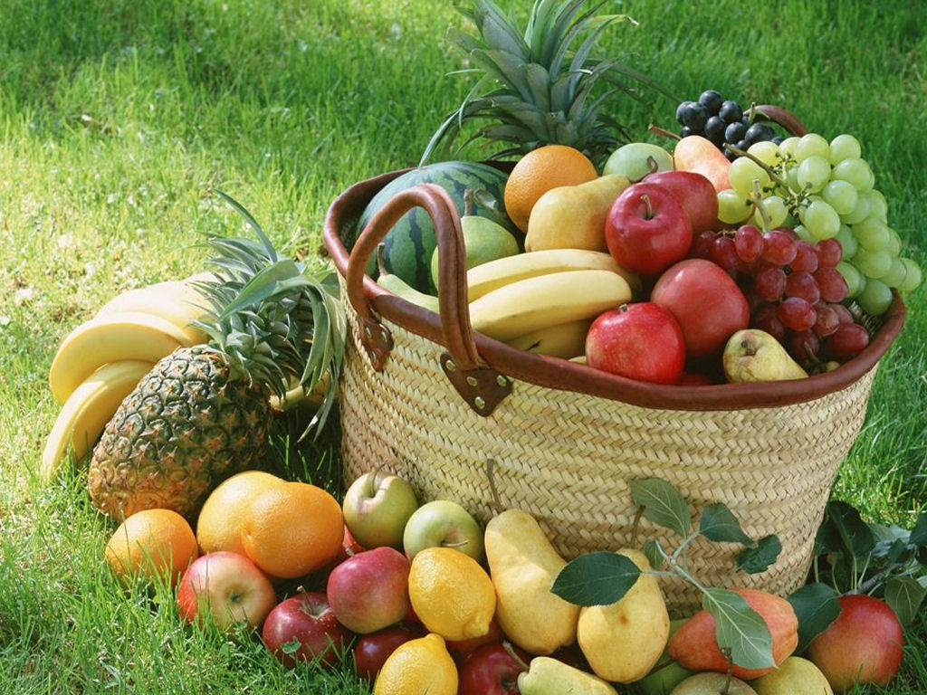 As frutas são fonte de minerais e vitaminas indispensáveis