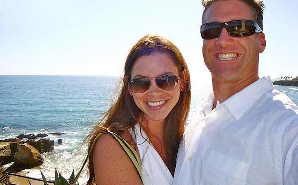 Brittany com o marido, Dan Diaz