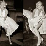 Marilyn Monroe foi uma das que ajudaram a dar glamour às meias de nylon