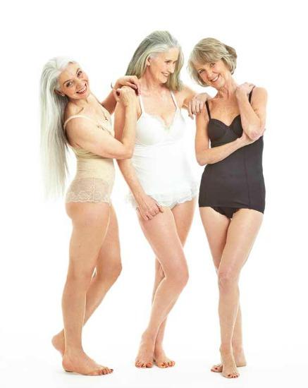 Elas são as protagonistas da campanha para vender lingerie