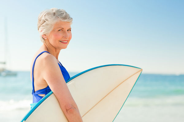 A única maneira de ser idoso sem envelhecer  é ter disposição para guinadas