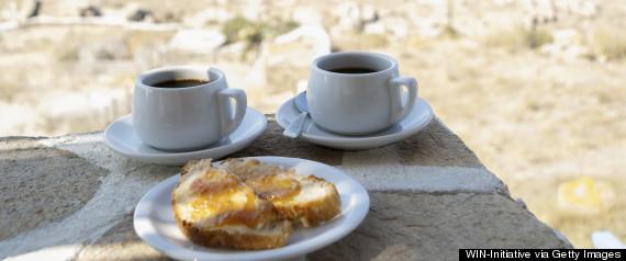 Pesquisadores descobriram que o café grego contém grande quantidade de polifenóis e anti-oxidantes