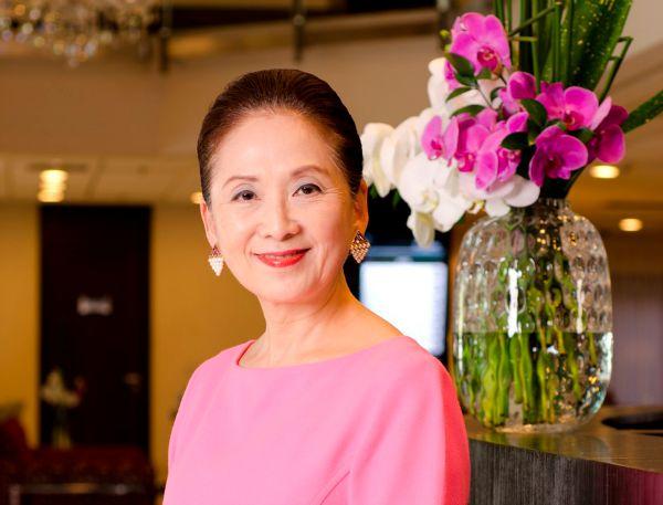 Chieko Aoki, 66, criadora da rede de hotéis Blue Tree