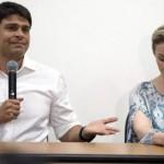 Pedro Paulo Carvalho e sua ex-mulher Alexandra