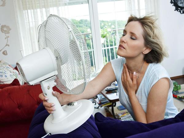 O fogacho é um dos sintomas mais comuns desse período da vida da mulher