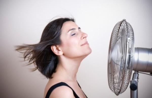 As ondas de calor são um dos efeitos mais desagradáveis da menopausa