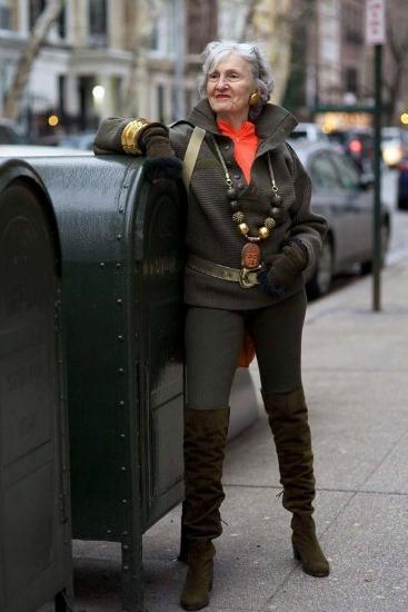 Calça comprida e jaqueta, formando um estilo mais forte