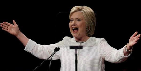 Ex-primeira-dama dos Estados Unidos, agora ela quer ocupar a cadeira presidencial