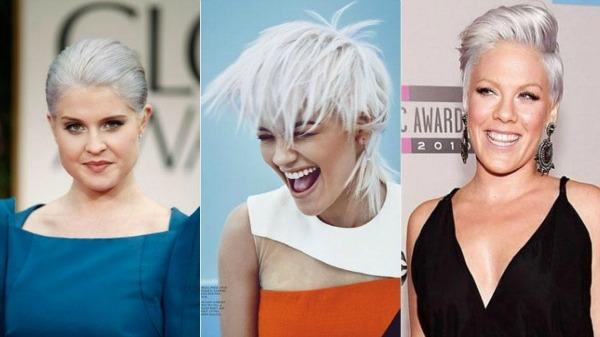 Kelly Osbourne, Rita Ora e Pink foram algumas das famosas que adotaram o visual