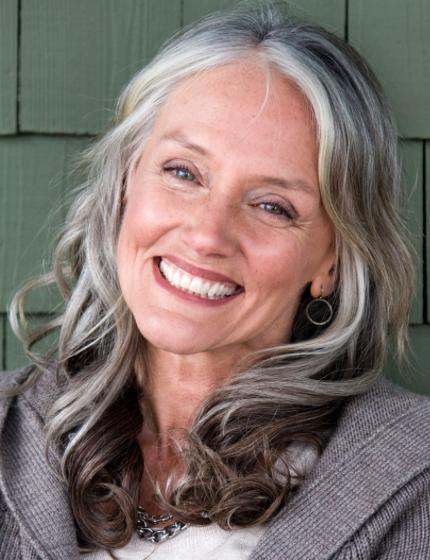 Cindy Josephs, modelo americana de 64 anos muito requisitada