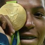 Ela deu ao Brasil a primeira medalha de ouro nas Olimpíadas do Rio