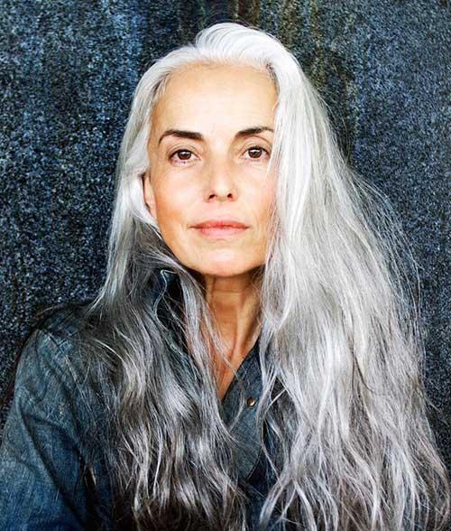 Embora bonita, esta é uma autêntica cabeleira