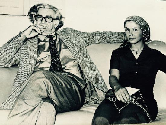 No começo da carreira, em BH, numa entrevista com o paisagista Burle Max