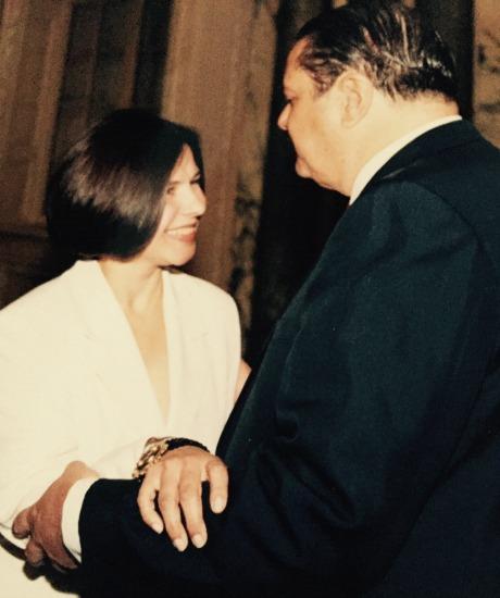 Com o embaixador do Brasil em Londres, Paulo Tarso Flecha de Lima