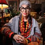 Iris Apfel, exemplo de quem faz a sua prória moda