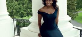 Michelle Obama, aos 52, em ensaio espetacular da revista Vogue