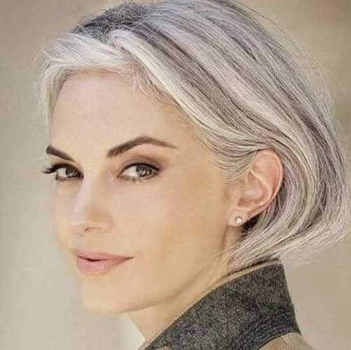 Platinado atrai jovens e quem quer assumir os fios brancos for Gorgeous in gray