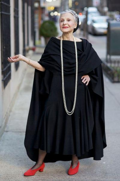 Antes de se tornar um ícone da moda novaiorquina, joyce Carpati foi cantora de ópera