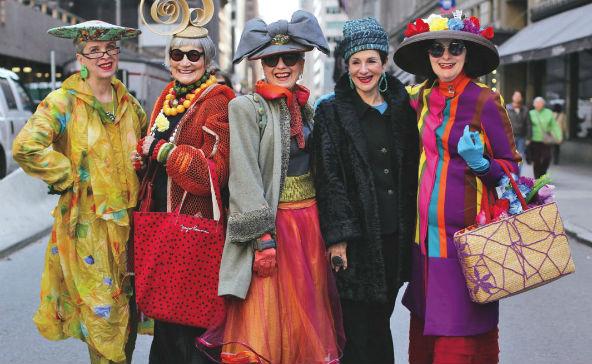 Uma seleção de mulheres para mostrar que a idade vai além da moda