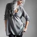Yasmin tem 60 anos e se deu muito bem na profissão de modelo
