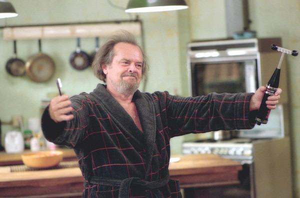 Interpretando o personagem Dr. Buddy Rydell, em Tratamento de Choque