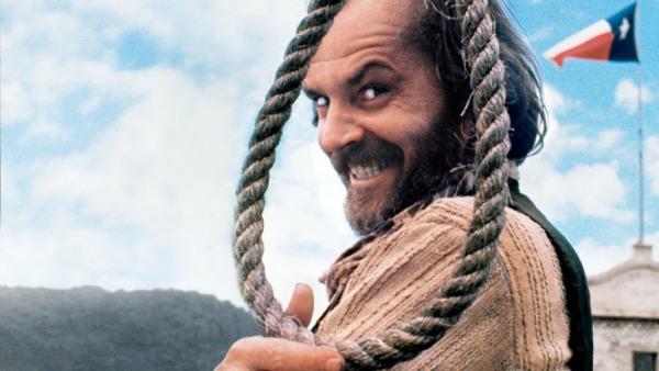 Fazendo o papel de Henry Lloyd Moon, no filme Com a corda no pescoço