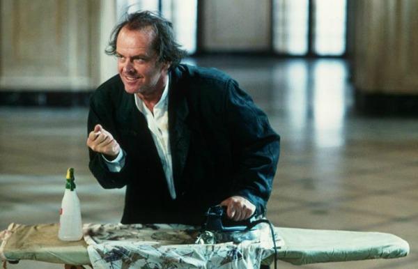 No papel de Daryl Van Horne, em As Bruxas de Eastwick