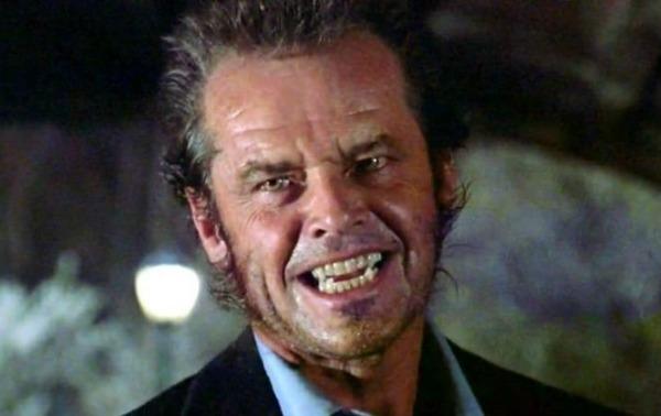 Como o aterrador Will Randall, em  Lobo, filme de 1996
