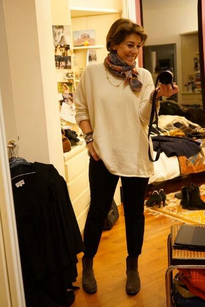Um traje bonito de Consuelo Blocker, filha de Costanza Pascolato