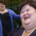 Maggie de Block, 55, casada, dois filhos, é ministra da Saúde da Bélgica