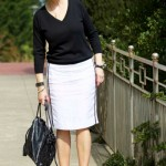 Esta é blogueira de moda Beth Djalali: sempre elegante