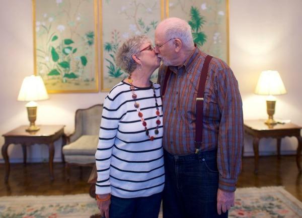 Karen Kanter e Stan Tobin, que moram juntos desde 2004 sem se casar