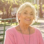 Impressiona a vitalidade de Irene, homenageada pela neta, Babi