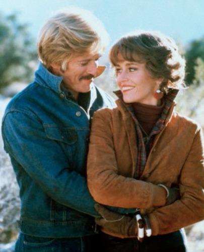 Os dois contracenando no filme O homem elétrico, em 1979
