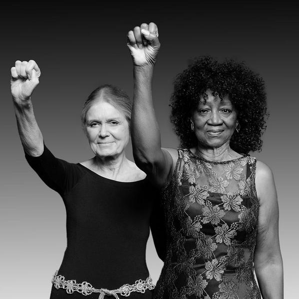 As duas fotografadas novamente, mais de 40 anos depois